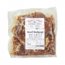 Bulgogi (Korean Marinated Beef) 500g
