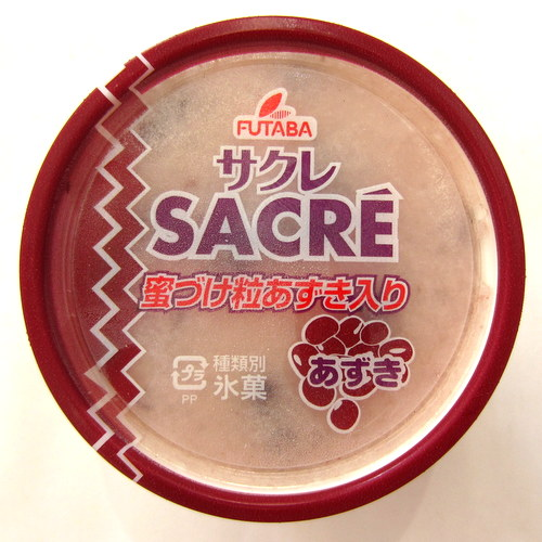 FUTABA Sacre Azuki(Shaved Ice with Syrup Red Beans) 200ml