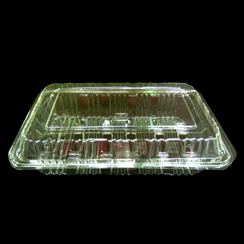 FD Daifuka Clear (4 Sushi Rolls Size Containers) 100p