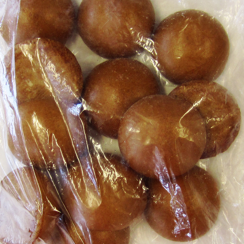 Aoki Karinto Manju (Brown Sugar Cake with Red Beans) 30gx12p