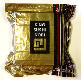 King Sushi Nori Full Size(Roasted Seaweed) 100sh