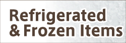 refrigerated & frozen items